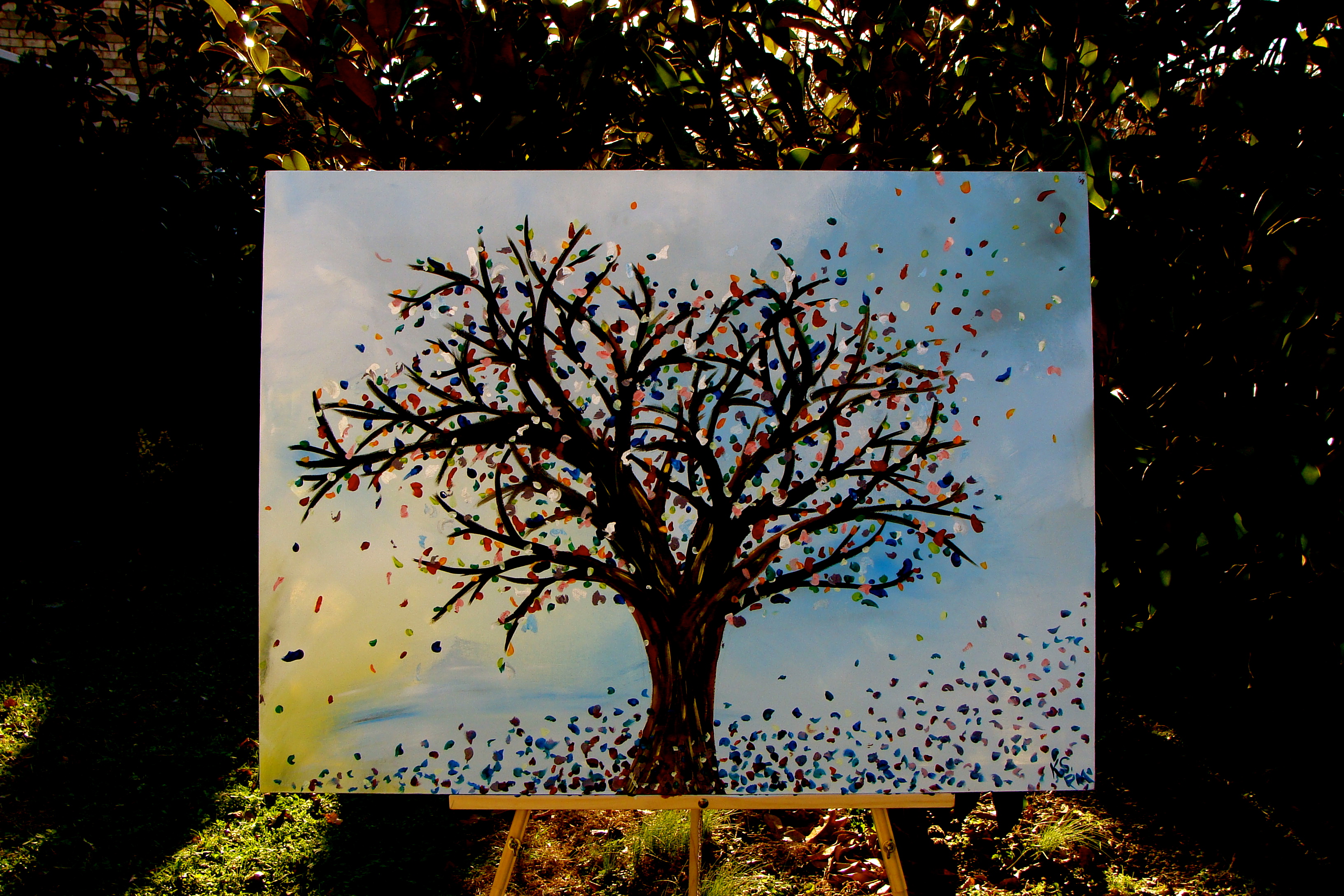 Tree Painting Has A Name Knight Stivenders Life In Full